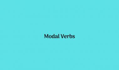Modals Verb Adalah